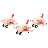 Rückzieh Holzflugzeug - Flugzeug