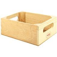 Holzbox für Spielzeug oder Essen - Spielset