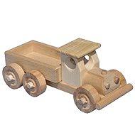 Dřevěné nákladní auto s korbou - Spieleisenbahn-Zubehör