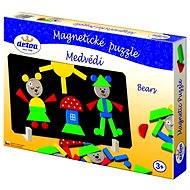 Detoa Magnetpuzzle - Bären - Puzzle