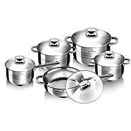 Blaumann Edelstahl-Topfset 10 Teile Jumbo Gourmet Line BL-1637 - Topfset