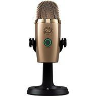 BLAUES Yeti-Nano-Gold - Tischmikrofon