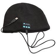 Beanie Bluetooth Wintermütze schwarz - Mütze