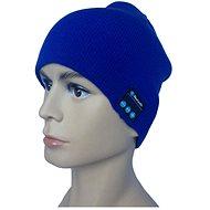 Beanie Bluetooth Wintermütze blau - Mütze