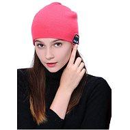 Beanie Bluetooth zimní čepice pink - Mütze