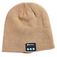 Beanie Bluetooth zimní čepice khaki - Mütze