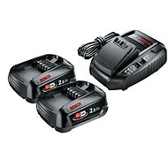 BOSCH 18V Batteriesatz - Ladegerät mit Ersatzbatterie