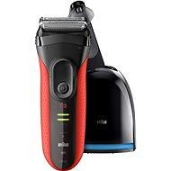 BRAUN Series 3 3050 Clean&Charge, rot - Rasierer