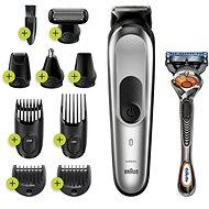 Braun MGK 7220 Metallic Silver - Haar- und Bartschneider