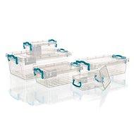 BRILANZ GEMA Universal Boxen Set 0,3 Liter / 0,5 Liter / 1,2 Liter / 1,8 Liter / 4 Liter, 5-teilig - Dosen-Set