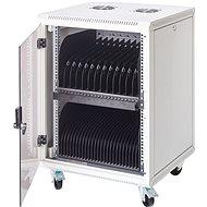 BScom-Rack für 15 Notebooks, 16 x Steckdosen mit 230 Volt Netzspannung - Ladestation