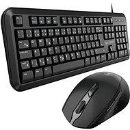 Eternico Essential KD100CS + MSB300 - schwarz - Tastatur/Maus-Set