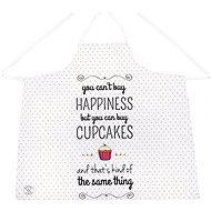Butter Kings, Schürze 1Stk., HAPPINESS AND CUPCAKES - Schürze