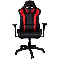 Cooler Master CALIBER R1, schwarz/rot - Gaming-Stuhl