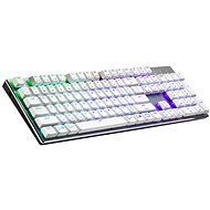 Cooler Master SK653, TTC Low ROTER-Schalter, weiß - US INTL - Gaming-Tastatur