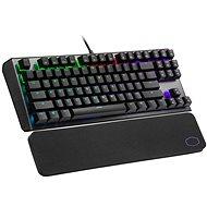 Cooler Master CK530 V2, BRAUNER-Schalter, schwarz - US INTL - Gaming-Tastatur