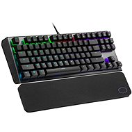 Cooler Master CK530 V2, ROTER Schalter, schwarz - US INTL - Gaming-Tastatur