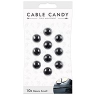 Cable Candy Small Beans 10 Stk. Schwarz - Kabel-Organizer