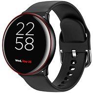 Canyon Smartwatch Marzipan CNS-SW75BR, schwarz-rot - Smartwatch