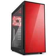 Sharkoon AM5 Window červená - PC-Gehäuse
