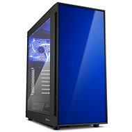 Sharkoon AM5 Window modrá - PC-Gehäuse