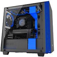 NZXT H400i schwarz und blau - PC-Gehäuse
