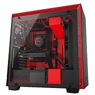 NZXT H700i Schwarz und rot - PC-Gehäuse