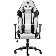 SilentiumPC Gear SR300 Weiß - Gaming Stuhl