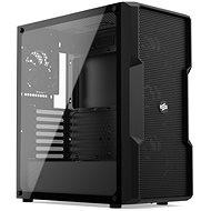 Silentium PC Regnum RG6V TG Reinschwarz - PC-Gehäuse