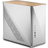 Fractal Design Era ITX Silber - Weiße Eiche - PC-Gehäuse