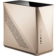 Fraktales Design von Era ITX Gold Tempered Glass - PC-Gehäuse