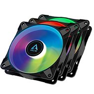 ARCTIC P12 PWM PST A-RGB 0dB Value Pack (3 Stück) Black - PC-Lüfter