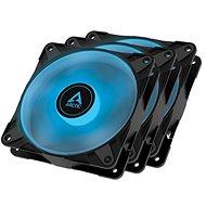 ARCTIC P12 PWM PST RGB 0dB Value Pack (3 Stück) Black - PC-Lüfter