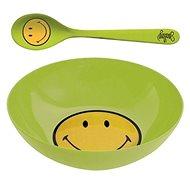 ZAK Frühstücksset SMILEY 17 cm, grün - Set