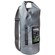 """CELLY Explorer 10L mit Tasche am Telefon bis zu 6,2"""" grau - Sack"""
