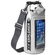 """CELLY Explorer 2L mit einer Tasche am Telefon bis zu 6,2 """"grau - Sack"""