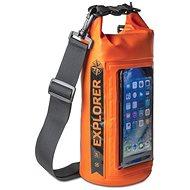 """CELLY Explorer 2L mit Handytasche bis zu 6.2 """"Orange - Sack"""