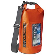CELLY Explorer 5L - Dry Bag für Smartphones bis 6,2 Zoll - orange - Sack
