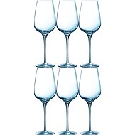 CHEF & SOMMELIER Weinglas 450 ml 6tlg SUBLYM - Glas-Set