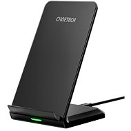 ChoeTech Wireless Fast Charger Stand 10W Black - Kabelloses Ladegerät