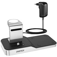 ChoeTech 4 in 1 MFi Wireless Charging Dock for iPhone + Apple Watch + AirPods - Kabelloses Ladegerät