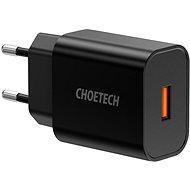ChoeTech Quick Charge 3.0 USB 18W Black - Netzladegerät