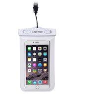 ChoeTech Waterproof Bag for Smartphones White - Handyhülle