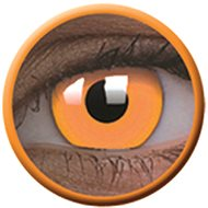 ColourVue Crazy Lens UV shining - Glow Orange (2 lenses - 1-year wear) - non-prescription - Kontaktlinsen