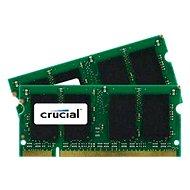Crucial SO-DIMM 1 Gigabyte DDR2 800MHz CL6 - Arbeitsspeicher