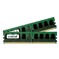 Crucial KIT 2 GB DDR2 800MHz CL6 - Arbeitsspeicher