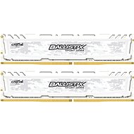 16GB KIT DDR4 2400MHz CL16 Ballistix Sport LT Single Ranked White - Arbeitsspeicher