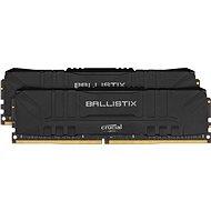 Crucial 16GB KIT DDR4 3000MHz CL15 Ballistix Schwarz - Arbeitsspeicher
