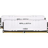 Crucial 16 GB KIT DDR4 3000 MHz CL15 Ballistix White - Arbeitsspeicher