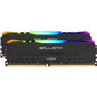 Crucial 64 GB KIT DDR4 3200 MHz CL16 Ballistix Schwarz RGB